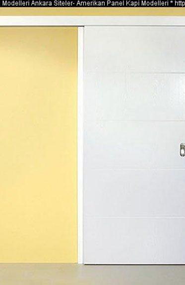 Sürgülü raylı kapı modelleri